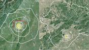 卫星3D地图:北京7+1环,成都7+3环,城市建设到底哪家强?