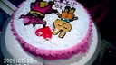 天津DIY蛋糕 大学生创业加盟连锁 甜蜜蜜DIY蛋糕店烘焙工坊顾客作品 小牛和小兔的故事