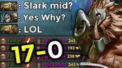 HELLO Poor Guy Slark!! FACTOR PUDGE IS HERE! PERFECT GAME