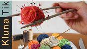 【假吃】编织食物!!!!!-Klunaik创意针织挑战赛2019(2019年10月25日23时1分)