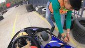 《卡丁车》番禺赛车场初体验,最快圈是最后一圈,41.721