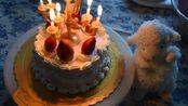 【复古草莓蛋糕】寒假宅在家中,不如和我一起做一个草莓蛋糕吧!(●˙˙●)