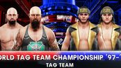 WWE VS AEW 2K19 Match 1:Anderson&Gallows VS The Young bucks