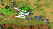 多瑙河联邦的机动部队展现出非凡战力,自制mod《红色警戒:世界战火》,2v2AI战斗,苏尤vd尤盟,红下载请看简介加群