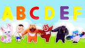 发发玩具 第32集 熊出没熊熊乐园字母套装猫头鹰老师教大家学英语
