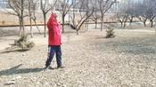 单轮空竹,春到长白。表演,吉林市,王忠昌。