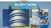 8519 建筑主题商务风格展示商务企业公司宣传片活动宣传视频包装AE模板