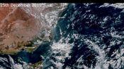 2019年12月25日至2020年1月2日,澳大利亚火灾卫星图,勿信网络谣传图