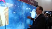 在ISE 2020上与jkkmobile进行多点触摸,UNB,XNB 55英寸互动屏展示,与首席执行官的Canvus展示和演示