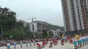 2015年沿河县黄土乡中心完小摆手舞