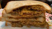 美食:五香肉丁鸡蛋花生酱三明治香港人简单生活如何家里吃下午茶