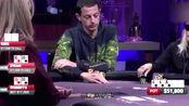 德州扑克:Dwan要是卡不到同花就完蛋了,幸运女神会降临么?