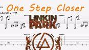 One Step Closer Linkin Park 指弹吉他谱 附吉他谱下载