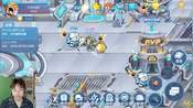 赛尔号星球大战:新精灵巡逻者T1机器人!乌力朴填色游戏卡修斯新皮肤-游戏精选全集-狄克海威Max