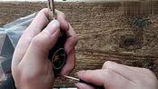 奥迪A3、Q3原车折叠钥匙壳拆装方法