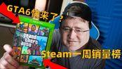 Steam一周销量榜:GTA6惹的祸?R星被母公司施压,还遭到税务调查!