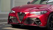 【有人说它是宝马M3杀手】2021年阿尔法罗密欧Giulia GTA – 540马力