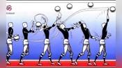 【图解】排球中的六项基本技术