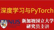 【新加坡国立大学】深度学习与PyTorch入门实战