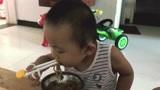 2岁宝宝就有自我约束力?不喜欢吃猪肝,但我缺铁不得不吃,苦啊