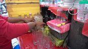 这个男孩用惊人的技能制作极端的柠檬苏打水js444.com , 印度街边小吃金沙