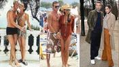 足坛巨星贝克汉姆与超模妻子维多利亚,这两人感觉都是超模啊。。