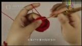 婴儿实用三件套 手套(下)钩针编织花样图解