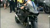 Kawasaki H2r声浪 加速~~