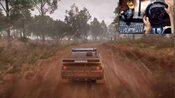尘埃4,试玩福特RS200手动挡,全程下雨加泥巴,这才是拉力!