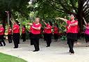 广西梧州市莲湖健身队【浪漫三月桃花红、小苹果】集体广场舞