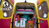 最具创意的奔驰斯宾特VanLife房车改造,真正的升降床【Van Life房车改装案例 93】 | AoneLife