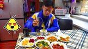 黑龙江高三开学了!姥姥早餐为他做了6个菜,终于复学很激动