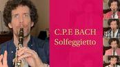 【精品转载18】Nicolas Baldeyrou- Solfeggietto C.P.E. Bach for Clarinet