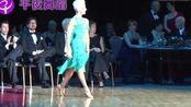 北京拉丁舞 黑池世界冠军恰恰表演 Michal - Joanna恰恰