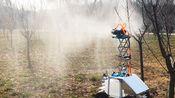 不到五千块成本制作的智能喷雾车——用来消毒可还行?