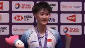 带领国羽女单走出困境,陈雨菲获总决赛冠军,荣升世界第一