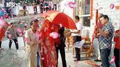 211大学毕业的农村小伙,回到寨子里,办了一场家乡传统婚礼。