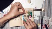 """【""""废物""""手帐】第1篇/不需要购买大量印章大量素材/变废为宝/用生活常见的废纸就可以做好看的手帐拼贴"""