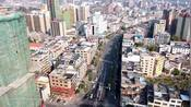 2020年航拍梅州市五华县城水寨大道,看看拍到你家了吗
