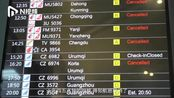 实拍上海虹桥机场滞留旅客:最长时间超1天,希望台风早点过境