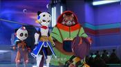 太空熊猫:大王子不怜香惜玉,害得熊猫妹妹白摔一跤,真的有趣
