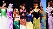 【cos】30人【迪士尼历代女主一起跳舞】青春美少女队HappyBaby【1:48高能】