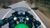Kawasaki Ninja 400 山路骑行第一视角