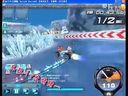 QQ飞车实战冰封谷1分56.89秒