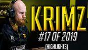 【CSGO】KRIMZ - Amazingly Consistent - HLTV.org's #17 Of 2019 (CS:GO)
