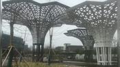 江苏天筑不锈钢金属工艺品园林景观大型的钢结构雕塑是如此的雄伟壮观