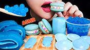 【ribong】助眠蓝色食物吃东西的声音很重/不说话(2019年10月10日19时49分)