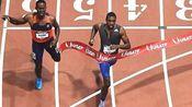 莱尔斯31.87室内300米世界纪录!2017美国室内锦标赛