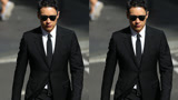 高云翔案庭审第9日抵达法庭 黑西装墨镜一言不发