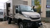 Iveco daily 4x4 conversion to a Camper. 2018 越野房车